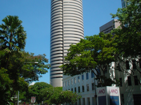 Singapore, AXA Tower